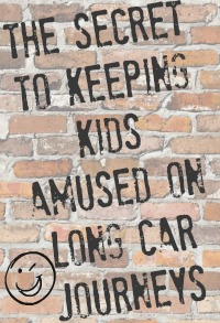 Backseat Playground – Amusing the kids on a long car journey