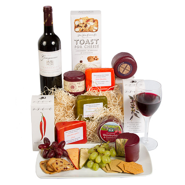 Win a Mouthwatering Serenata Cheese and Wine Hamper (RRP £70)