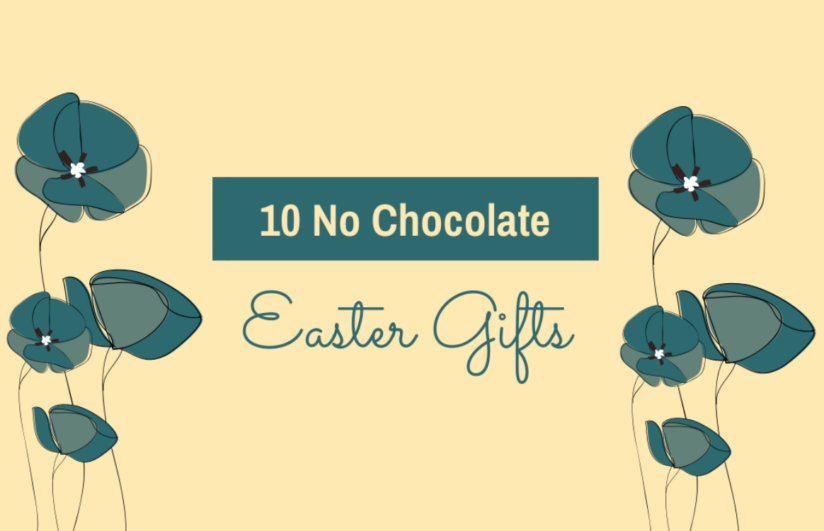 no chocolate easter gifts
