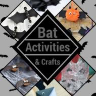 10 Bat Crafts & Activities for Halloween