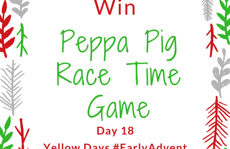 Win a Peppa Pig Race Time Game