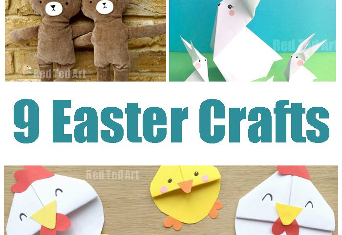 9 Super Cute Easter Crafts To Make With Your Kids
