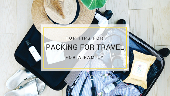 Family travelpack 101 – What you really need to pack