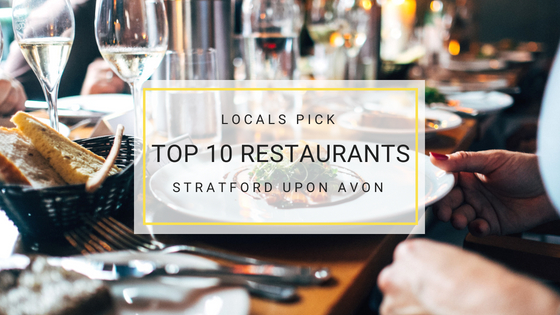 Top 10 Stratford Upon Avon Restaurants