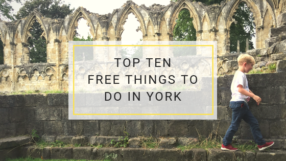 Top 10 Free Things To Do In York
